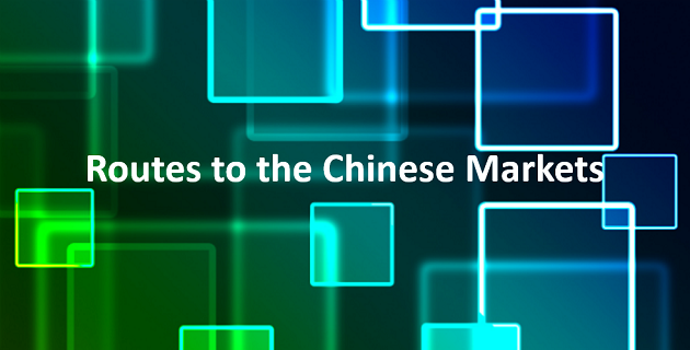 Routes to the chinese markets