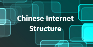Chinese internet structure