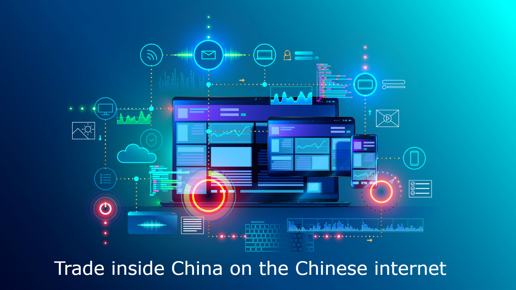 Trade inside China on the Chinese internet